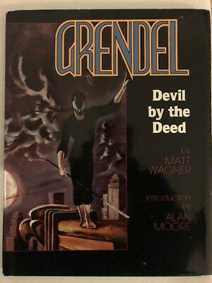 Grendel: Devil by the Deed Limited edition Hardcover Matt Wagner (1986)