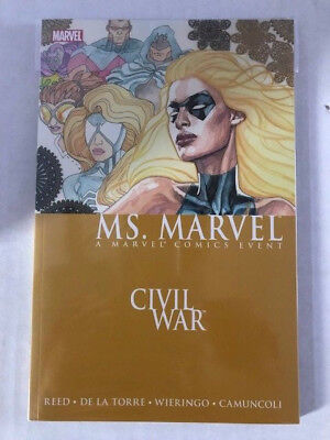 Ms. Marvel: Civil War TPB Ms. Marvel, Carol Danvers vol. 2 Upcoming Movie