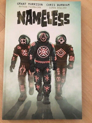 Nameless Trade Paperback by Grant Morrison and Chris Burnham