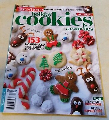 Taste Of Home Holiday Cookies Candies Recipes Tips 2018 Christmas Special