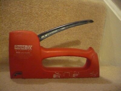 A Rapid Work Line R 53 Ergonomic Staple Gun Made In Sweden.