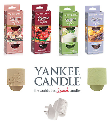 NEW Yankee Candles Electric Plug In & Refills Variety of Fragrances