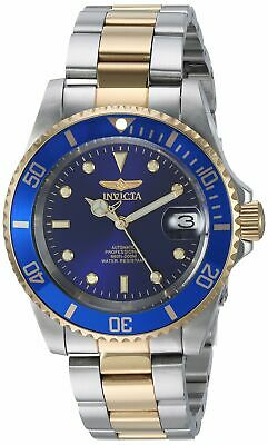 Invicta Pro Diver Automatic 24 Jewels Blue Dial Two Tone Mens Watch 8928OB SD
