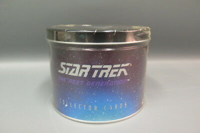 Skybox Star Trek Next Generation Limited Edition #9152/10000 Trading Card Tin