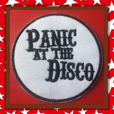 🇨🇦 Panic At The Disco  Patch Embroidered Sew On/stick On Clothing/new 🇨🇦