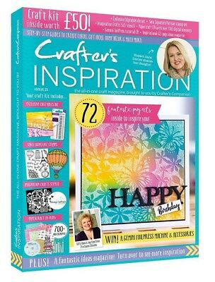Crafters Companion - CRAFTERS INSPIRATION - Issue 21 Winter Edition FREE UK P&P
