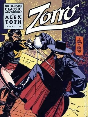 Zorro The Complete Classic Adventures of Alex Toth TPB (Eclipse) 2-1ST 1988 VF