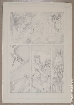 Original Art for Atomic Clones Issue 3, Page 22 by Scott Benefiel (Unreleased)
