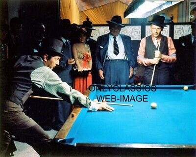 Cool Guys Rat Pack Dean Martin & Frank Sinatra Playing Pool Billiards 8X10 Photo