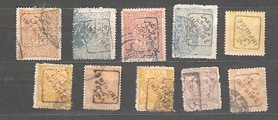 01-30-3271 TURKEY - Ottoman Empire - lot of old stamps