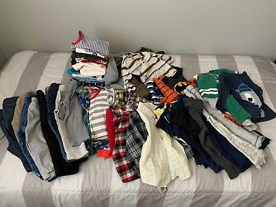 "Baby Toddler Boy Clothing ""Grab Bag"" Random Pants Shirts Sweaters PJ 18-24 Month"