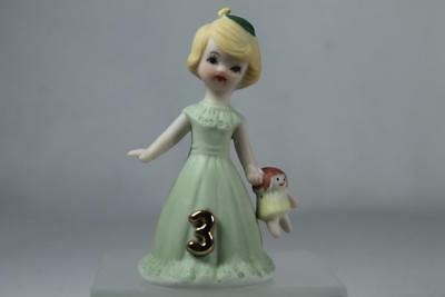 Growing Up Girls - Age 3 Blonde #E-2303 Beautiful New In Box
