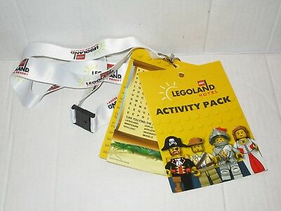 Legoland Florida Resort Hotel Lanyard Kids Activity Pack