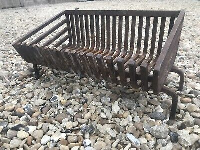 Vintage Cast Iron Fire Basket Grate FREE DELIVERY
