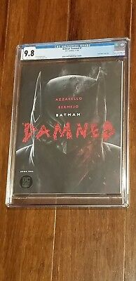 Batman Damned #1 Book One CGC 9.8 NM/MINT 1st DC Black Label Title Uncensored