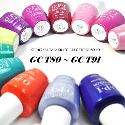"OPI UV/LED Soak off Gel Color Tokyo Collection 0.5oz ""Choose Any 1"""