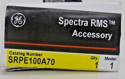 New! GE Spectra SRPE100A70 70amp circuit breaker rating plug