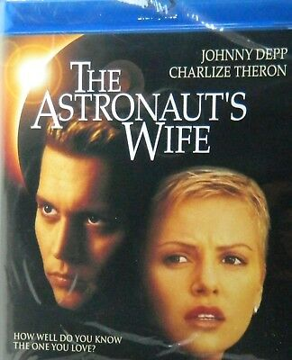 The ASTRONAUT's WIFE (1999) Blu-ray Johnny Depp Charlize Theron Nick Cassavetes