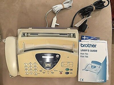 BROTHER T96 Fax Machine in Full Working Order