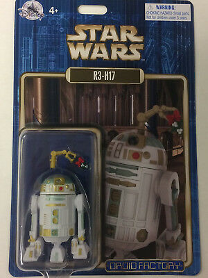 Disney Parks Star Wars 2017 R3-H17 Holiday Christmas Droid Factory Figure
