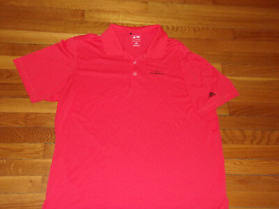 Adidas Puremotion Ledgerock Short Sleeve Orange Golf Polo Shirt Mens 2Xl Exc.
