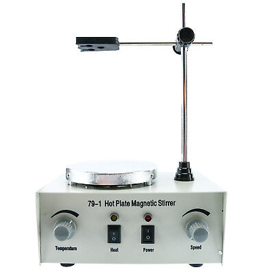 Value 1000ml Magnetic Stirrer Mixer With Heating Plate Hotplate Digital Display