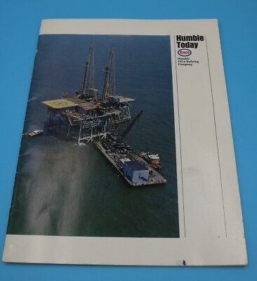 Vintage Humble Enco Oil - Humble Today 1967 Book