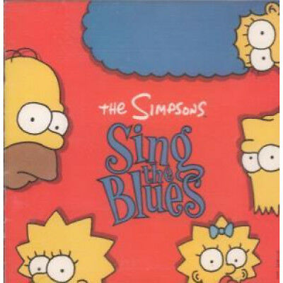 SIMPSONS Sing The Blues CD Germany Geffen 1990 10 Track (7599243082)