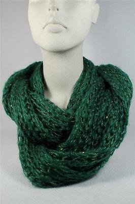 Infinity Scarf-By Howards Greens With A Little Sparkle Soft #8838/13  NWT's