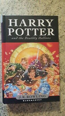 Libro Harry Potter - And The Deatbly Hallows  Ottimo Stato - Lingua Inglese