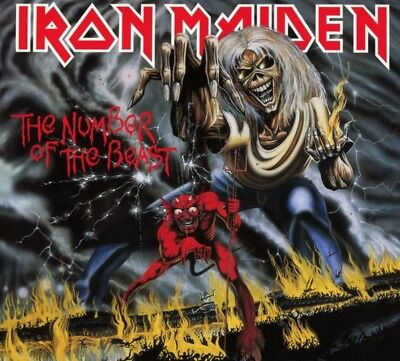 Iron Maiden - The Number Of The Beast (Remastered) CD Plg Uk NEU