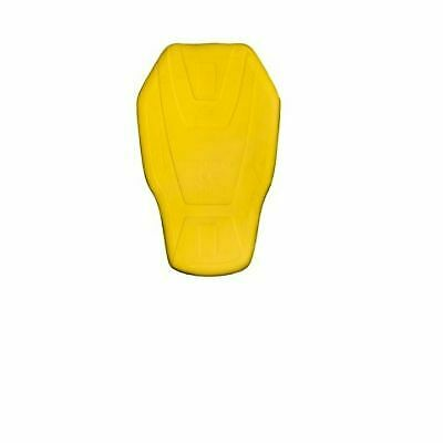 RST Motorcycle CE Memory 2025 Foam Back Protector Men's In Yellow 1202508