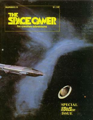 """Metagaming Space Gamer Mag #25 """"Stellar Conquest Special Issue"""" Mag VG"""