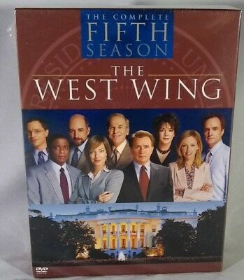 THE WEST WING ~ Complete Fifth Season 5 ~ DVD BOX SET ~ Brand New Sealed