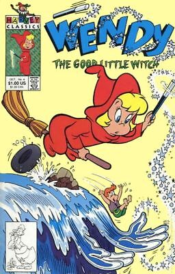 Wendy the Good Little Witch #4 1991 FN Stock Image