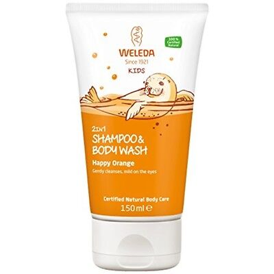 Weleda Kids 2 In1 Happy Orange Shampoo & Body Wash