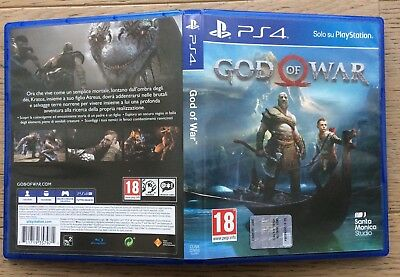 GOD OF WAR PS4 VERSIONE ITALIANA Pal Ita Come Nuovo