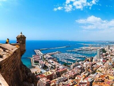 2 flights to Alicante, flying from Manchester