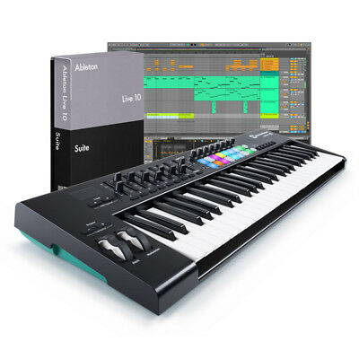 Ableton Live 10 Suite with Launchkey 49 v2 Bundle (NEW)