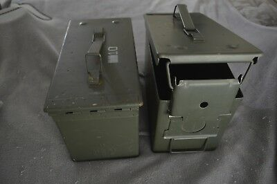 Metal Ammo Can Military Steel Box  Gun Ammo and other Storage. Price per unit.