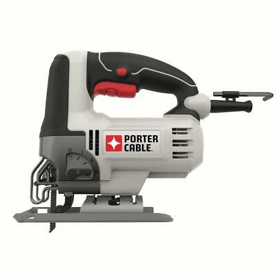 7 Position Speed Dial PORTER-CABLE PCE345 6 Amp Orbital Jig Saw Lock-on Button