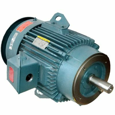 Cast Iron AC Motor Inverter-rated 1200RPM 1HP 145T 3Phase 1Yr warranty