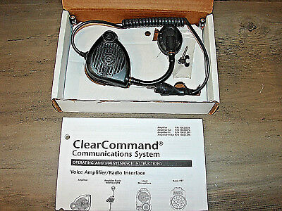 MSA 10023057 Clearcommand Voice Amplifier Radio Interface ** NEW **