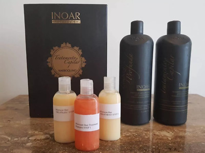 Inoar Moroccan Keratin Brazilian Treatment Hairstyle in Dry Smoothing 240ML Kit