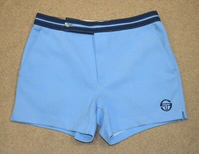 SERGIO TACCHINI TENNIS SHORTS OLDSCHOOL VINTAGE BUSINESS CASUALS 70s 80s SMALL