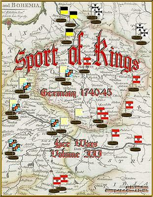 Red Sash Wargames Lace Wars Series #3 - Sport of Kings - Germany 1740-45 Box SW
