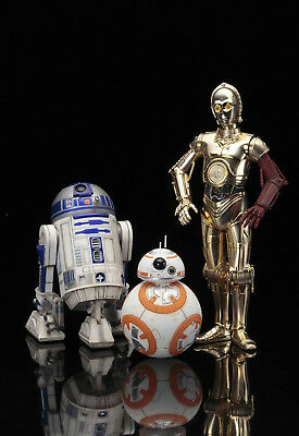 "Star Wars ""r2-D2 & C-3Po With Bb-8"" Artfx+ Statue 1/10 Scale (Kotobukiya)"
