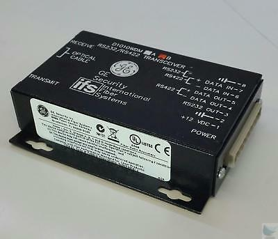 GE Security IFS D1010WDM B RS232 422 to Optical Transceiver