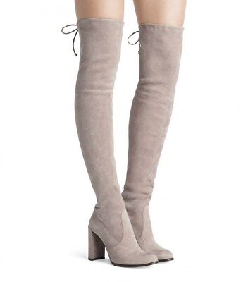 5ebcaf76a68  798 NEW STUART Weitzman Hiline Haze Suede Over-The-Knee Boot ...