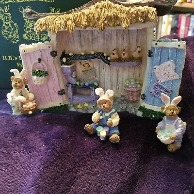 Boyds Bearstone H.B.'s Egg Factory Retired New 1st Edition